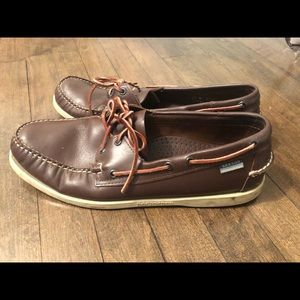 Brown Sebago size 13 Docksides